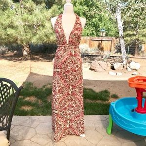 O'Neill Dolley Printed Maxi Dress